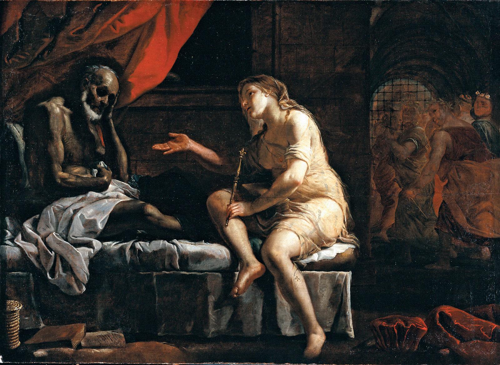 Boecjusz i Filozofia, Mattia Preti