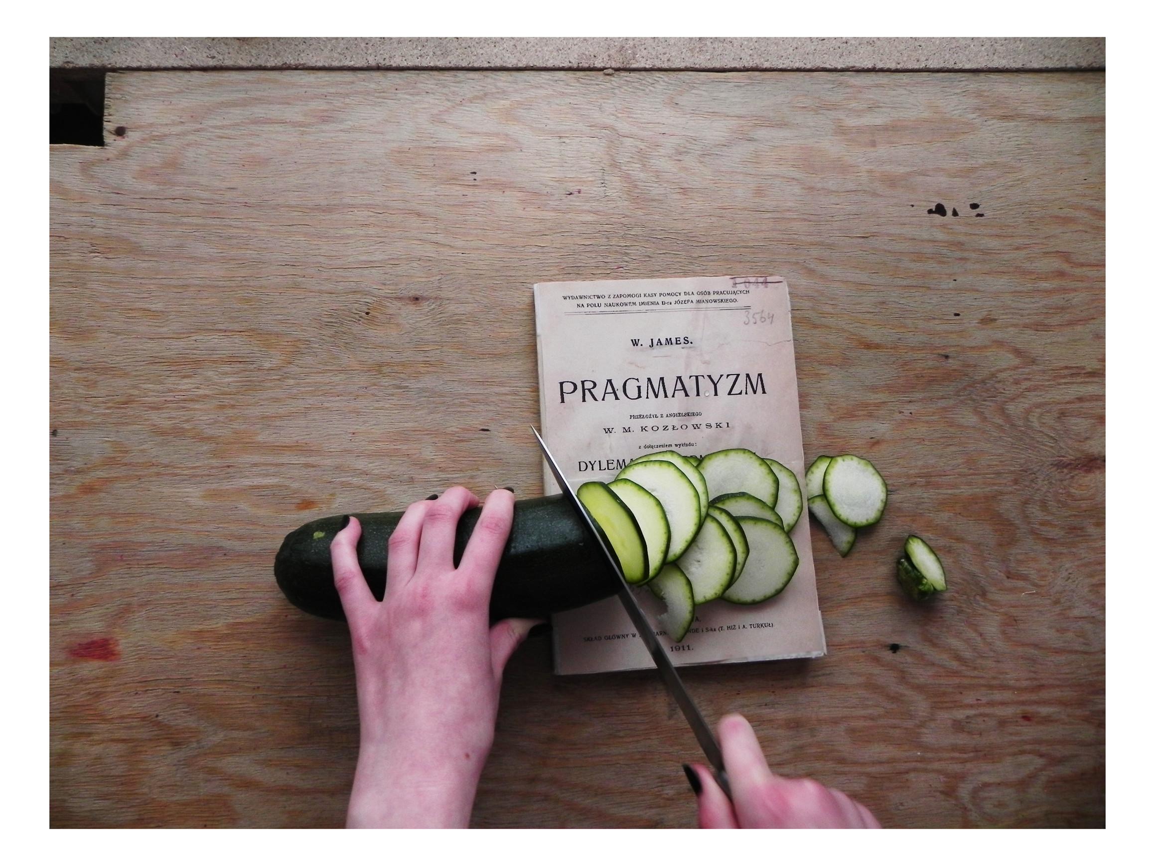 Pragmatyzm i cukinia